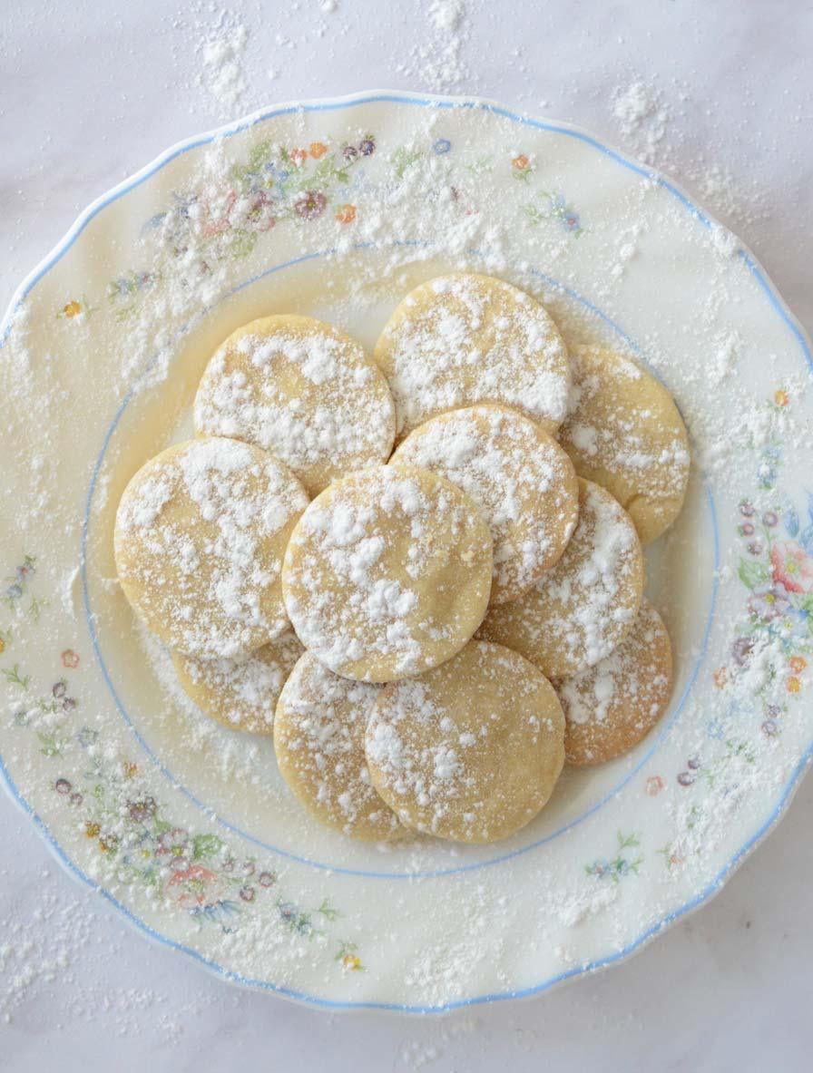 עוגיות חמאה טבעוניות