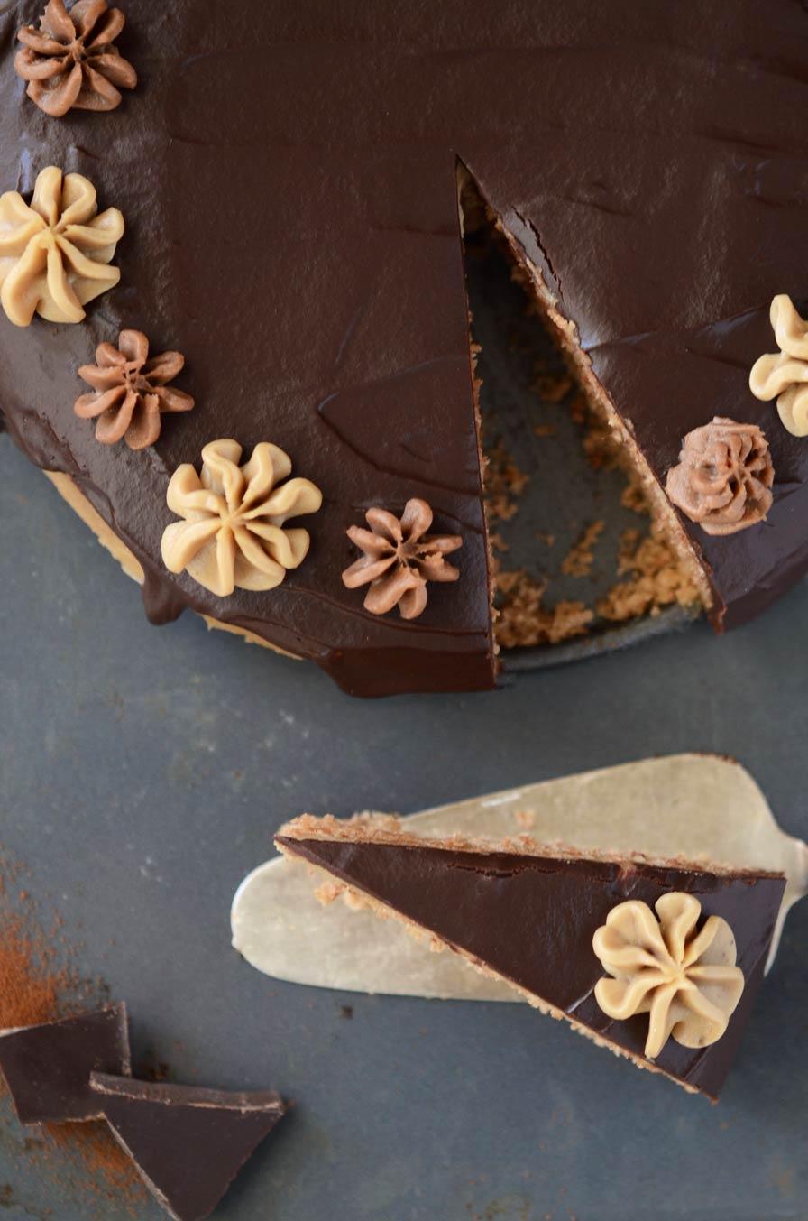 עוגת קפה טבעונית