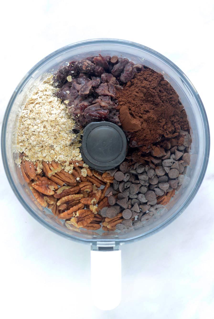 כדורי שוקולד טבעוניים מושלמים