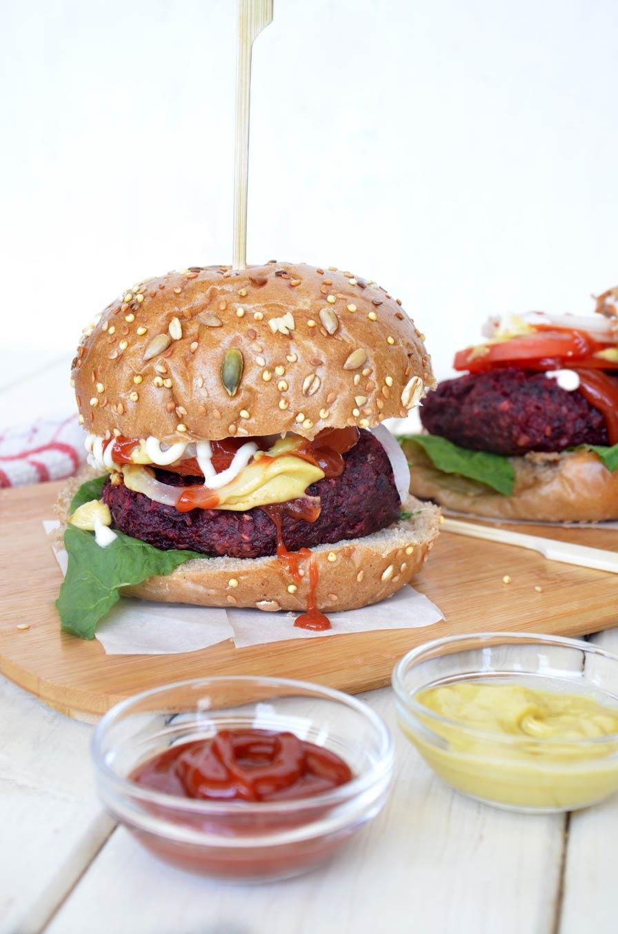 המבורגר טבעוני עסיסי