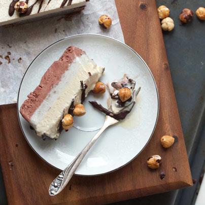 עוגת גלידה טבעונית