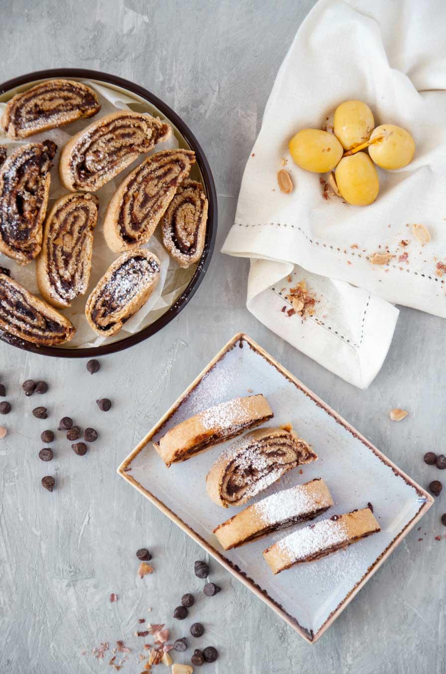 עוגיות רולדה טבעוניות פריכות