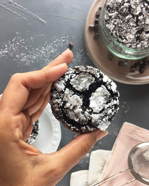 עוגיות מושלגות טבעוניות