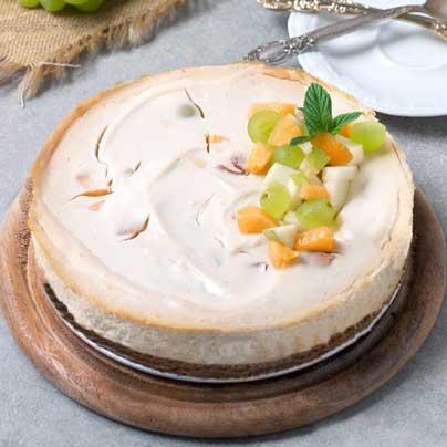עוגת גבינה אפויה טבעונית