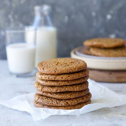 עוגיות טחינה טבעוניות