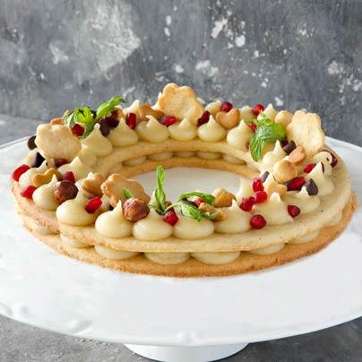 עוגת מספריםטבעונית
