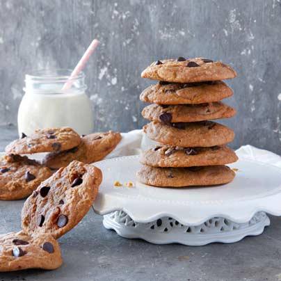 עוגיות שוקולד צ'יפס טבעוניות נמסות