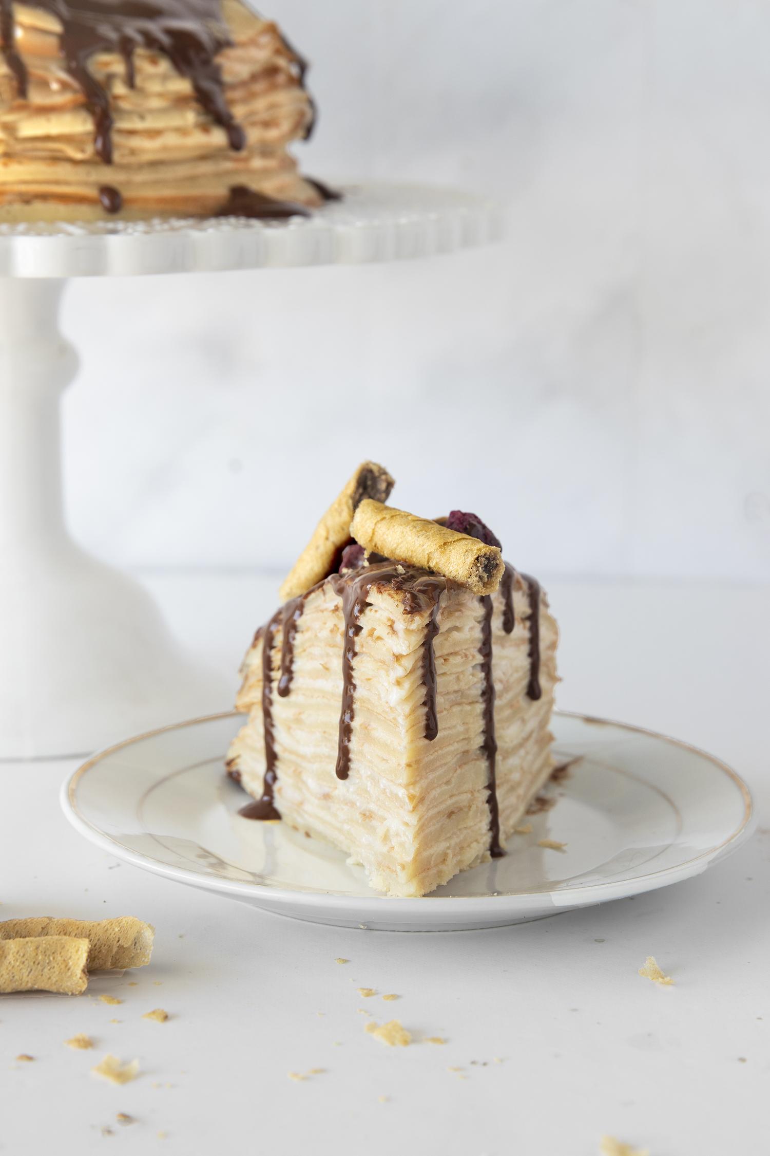 עוגת קרפים מטורפת