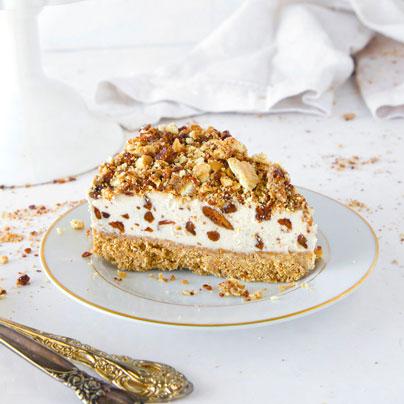 עוגת גלידה פקאן
