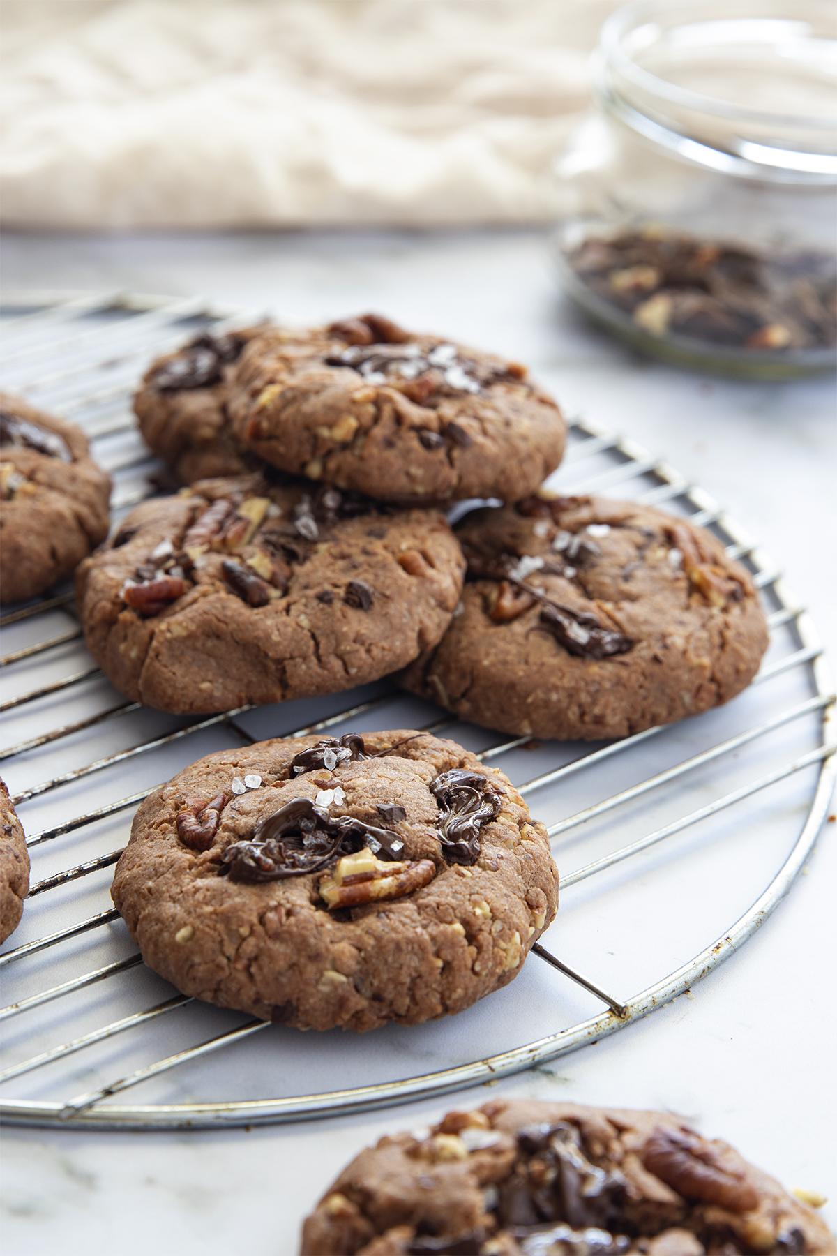 עוגיות פאי פקאן ושוקולד