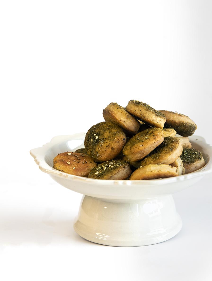 עוגיות זעתר מלוחות
