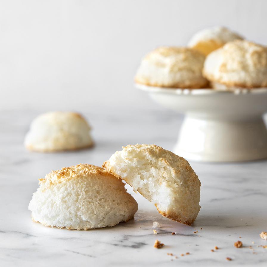 עוגיות קוקוס לפסח טבעוניות