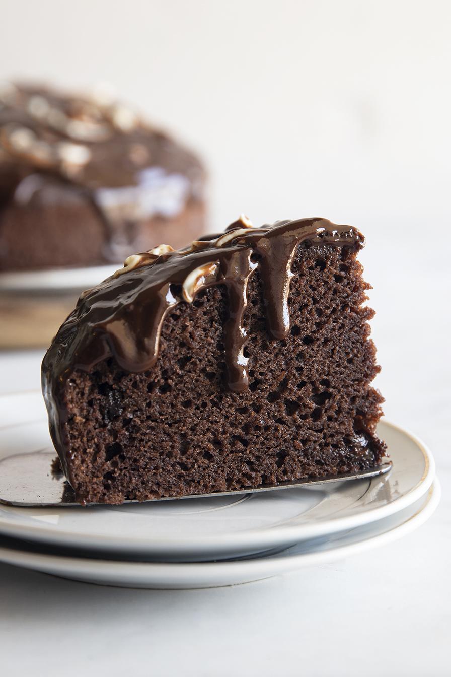 עוגת שוקולד וגבינה טבעונית