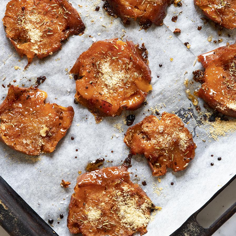 בטטות בתנור בצ׳ילי מתוק