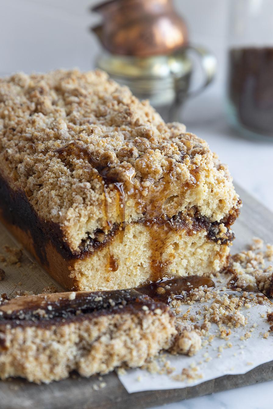 עוגת קפה וניל טבעונית