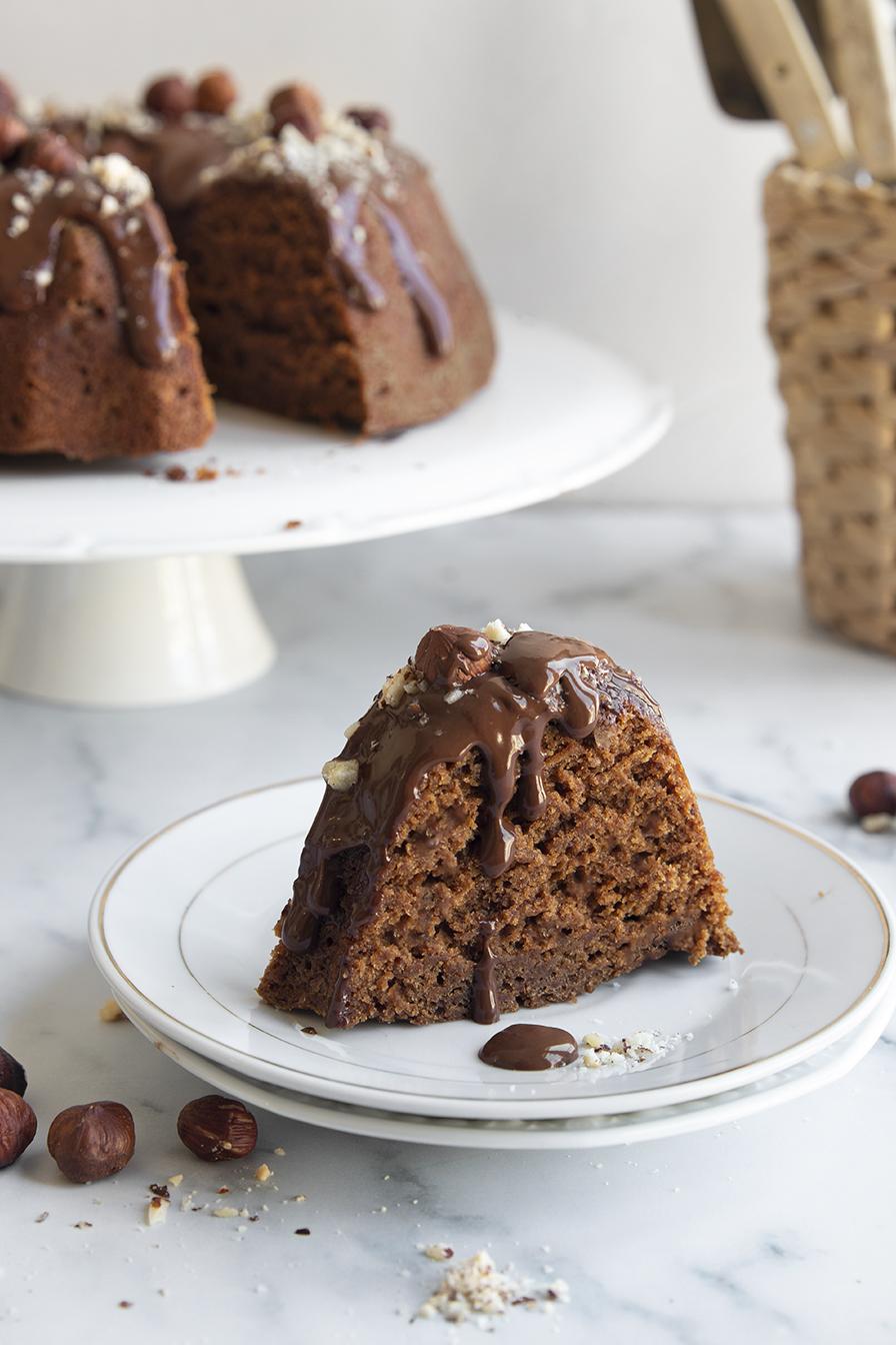 עוגת דבש שוקולד טבעונית