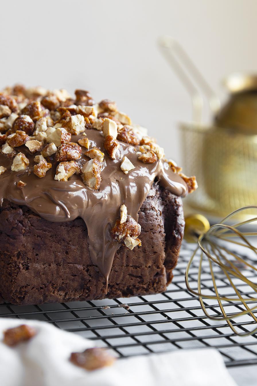 עוגת נוטלה בחושה