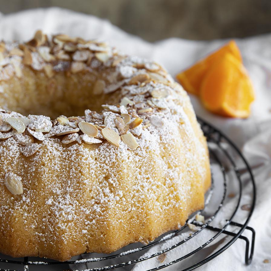 עוגת סולת טבעונית