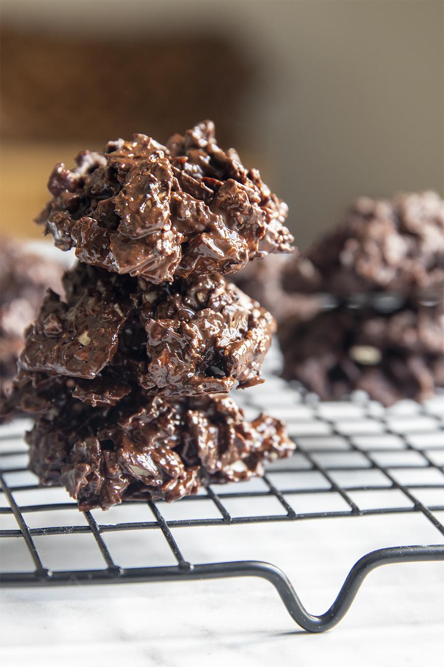 עוגיות מצה עם שוקולד